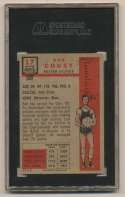 1957 Topps 17 Cousy SGC 7