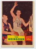 1957 Topps 19 Heinsohn VG-Ex/Ex