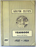 1958 Yearbook  Boston Celtics Ex-Mt