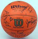 Autographed Basketball  1982-83 Boston Celtics Team Signed Basketball (19 sigs) 9