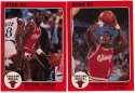 1984 Star Jumbo  Complete Bulls Set w/Michael Jordan (6 pcs) Nm-Mt