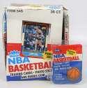 1986 Fleer  Empty Wax Box w/one wrapper Ex