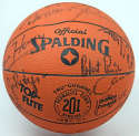 Autographed Basketball  1986-87 Boston Celtics Team Signed Basketball (19 sigs) 9