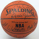 Autographed Basketball  1987-88 Boston Celtics Team Signed Basketball (22 sigs) 9