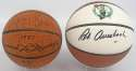 Auto Bkb  Red Auerbach & Larry Bird Signed Mini Basketballs from Auerbach Estate 9
