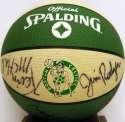 Auto Basketball  1988/89 Celtics w/Bird & Lewis 9.5