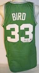 Jersey  Bird, Larry Boston Celtics 9.5