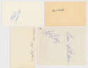 3 x 5  Terrific Run of 171 Autographs 9