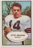1953 Bowman 26 Otto Graham VG-Ex/Ex