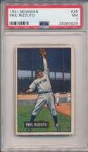 1951 Bowman 26 Rizzuto PSA 7