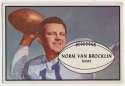 1953 Bowman 11 Norm Van Brocklin VG-Ex/Ex Ctd