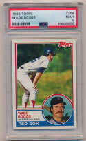 1983 Topps 498 Boggs RC PSA 9