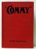 1919 Book  Commy by GW Axelson  Ex+