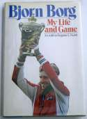 Book  Borg, Bjorn Signed 1980 My Life and Game 9.5 JSA LOA (CARD)