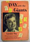 Book  Day, Laraine Signed Day With The Giants (1952) 9.5