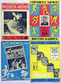 1935 Program  Collection of 53 Programs 1935-1968