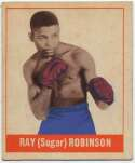 1948 Leaf 64 Sugar Ray Robinson Ex
