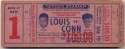 1946 Ticket  Louis/Conn Full Ticket VG