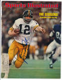 8 x 10  Bradshaw, Terry Signed 1975 Sports Illustrated Cover 9.5