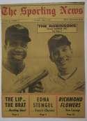 8 x 10  Robinson, Brooks and Frank - Vintage Sporting News 9