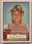 1952 Topps 357 Burgess GVG