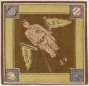 1914 B18 Blanket 10.2 Tioga George Burns (brown infield) Ex+