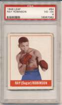 1948 Leaf 64 Sugar Ray Robinson PSA 4