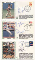 Cachet  69 different signed cachets w/Ryan, Musial, Reese 9.5