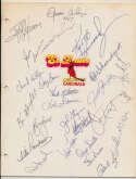 Team Sheet  1982 Expos (26 w/Carter, Dawson, Reardon) 9