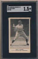 1921 E121 Series 80 11 Max Carey (batting) SGC 1.5