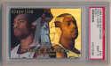 1998 Flair Showcase 25 Vince Carter Row 1 PSA 9
