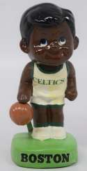 1965   Boston Celtics African American Nodder in box NM