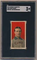 1909 T206 77 Chance (portrait, red bckgrnd) SGC 3