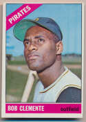 1966 Topps 300 Clemente Ex-Mt