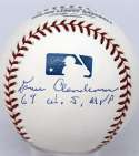 Deceased  Clendenon, Donn  9.5 (Selig, 69 WS MVP)