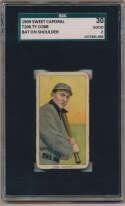 1909 T206 97 Cobb (bat on shoulder) SGC 2