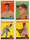 1958 Topps  Large Clean 1950s/1960s Common Collection (1,500 cards) Ex-Mt/NM