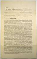 Contract  Hanlon, Ned Signed 1897 Player Contract 9.5 JSA LOA (FULL)