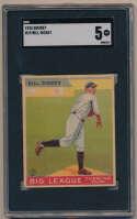 1933 Goudey 19 Dickey SGC 5