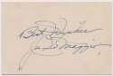 Cut  DiMaggio, Joe Vintage 1939 Signed 4x3 Cut 9