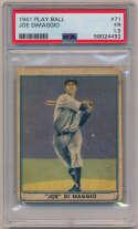 1941 Play Ball 71 Joe DiMaggio PSA 1.5