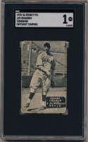 1933 Zeenut  Joe Dimaggio Throwing SGC 1