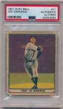 1941 Play Ball 71 Joe DiMaggio PSA AA