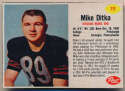 1962 Post Cereal 111 Ditka SP Ex-Mt