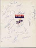 Team Sheet  1982 Mets (20 sigs) 9