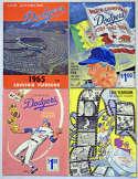 1965 Yearbook  LA Dodgers 1965-2009 Yearbook Run Ex-Mt/NM