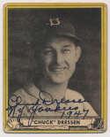 1940 Play Ball 72 Chuck Dressen 9.5