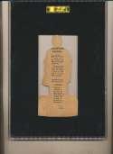 1910 E125 American Caramel  Adams, Babe SGC 3