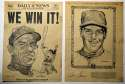1969 Daily News  1969 Mets Collection (54 pcs) w/one set VG-Ex