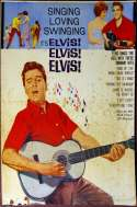 Elvis Singing Lovely Original Poster